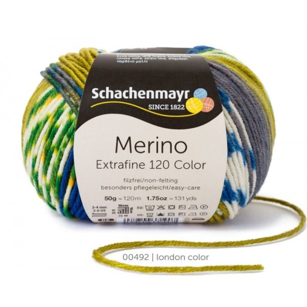 Laine Merino Extrafine 120 Color