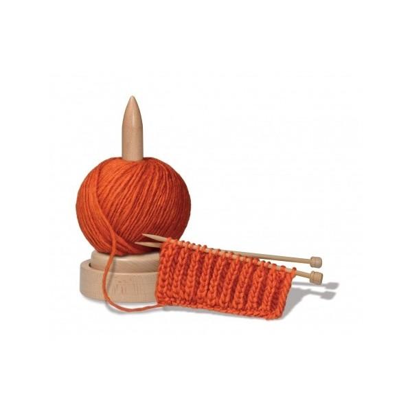 Porte-pelote en bois