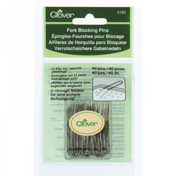 Epingles-fourches pour blocage 3163 Clover