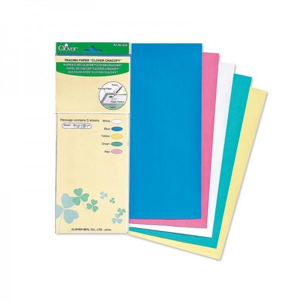 Papier à décalquer pour tissu Clover