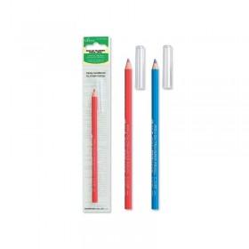 Crayon thermo-décalque bleu