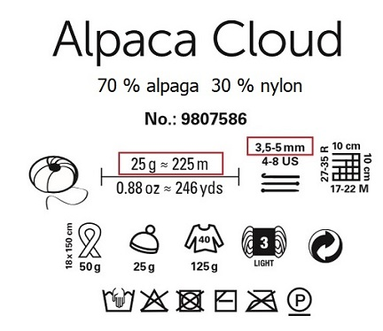 Laine Alpaga Cloud