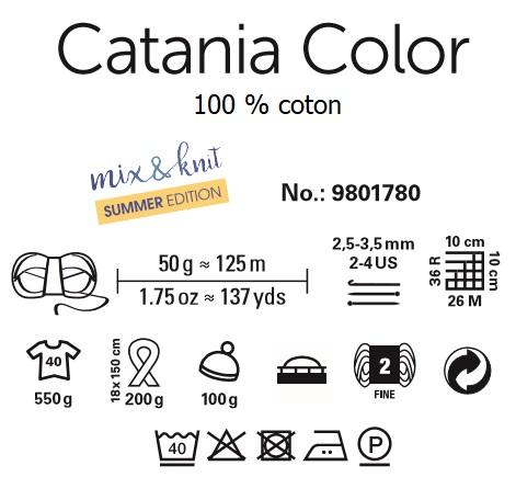 Fil Catania Color 100 % coton Schachenmayr