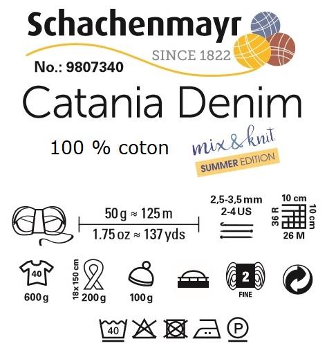 Fil Catania Denim Schachenmayr 100 % coton