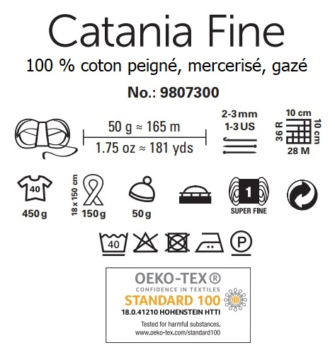 Fil Catania Fine 100 % coton Schachenmayr