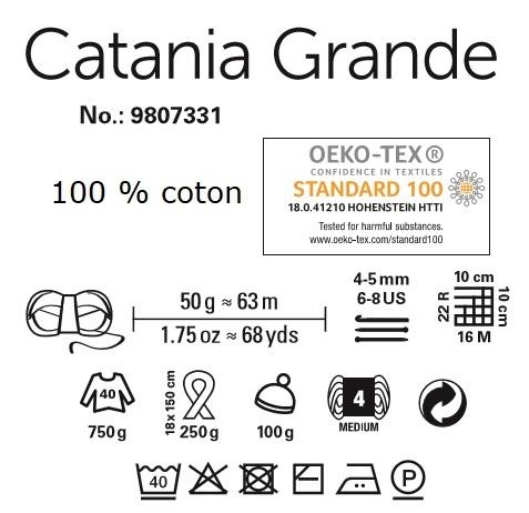 Fil Catania Grande 100 % coton de Schachenmayr
