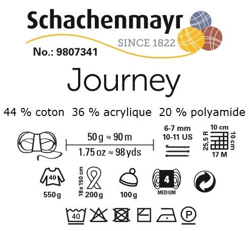 Fil coton mélangé Journey de Schachenmayr