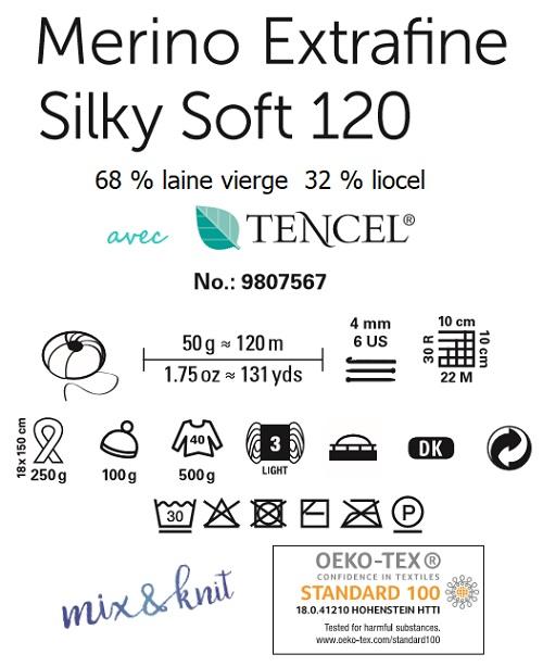 Laine Merino Extrafine Silky Soft 120 Schachenmayr