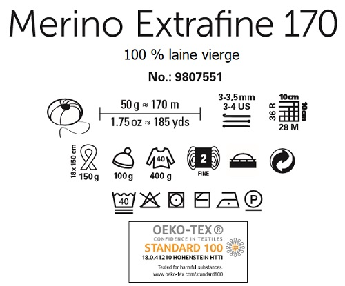 Laine Merino Extrafine 170 Schachenmayr