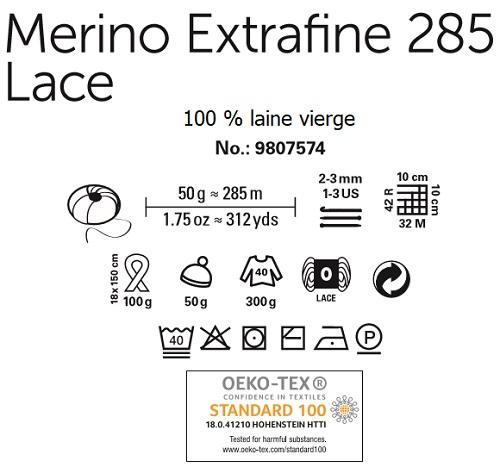 Laine Merino Extrafine 285 Lace Schachenmayr