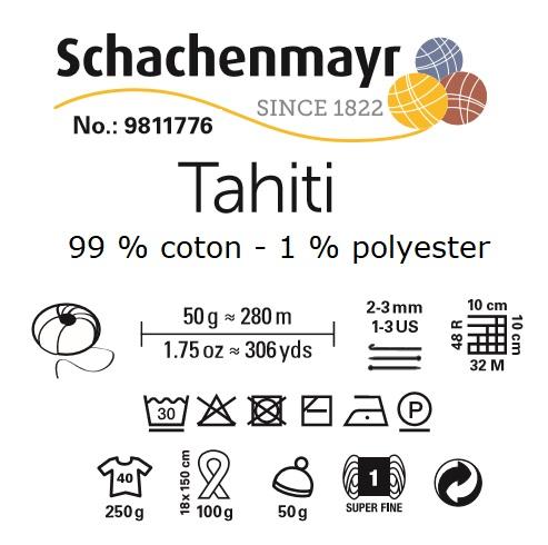 Fil coton Tahiti Schachenmayr 99 % coton 1 % polyamide